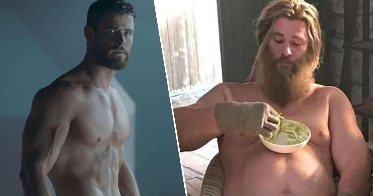 Thor In Ragnarok Vs Thor in Avengers Endgame