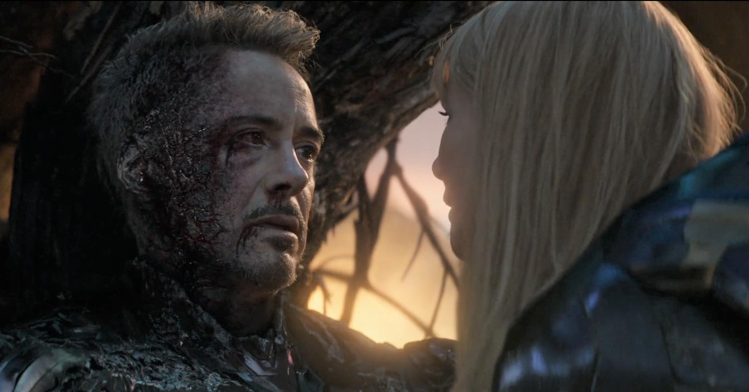 When Tony Stark dies in Avengers- Endgame