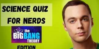 Science Quiz For Nerds