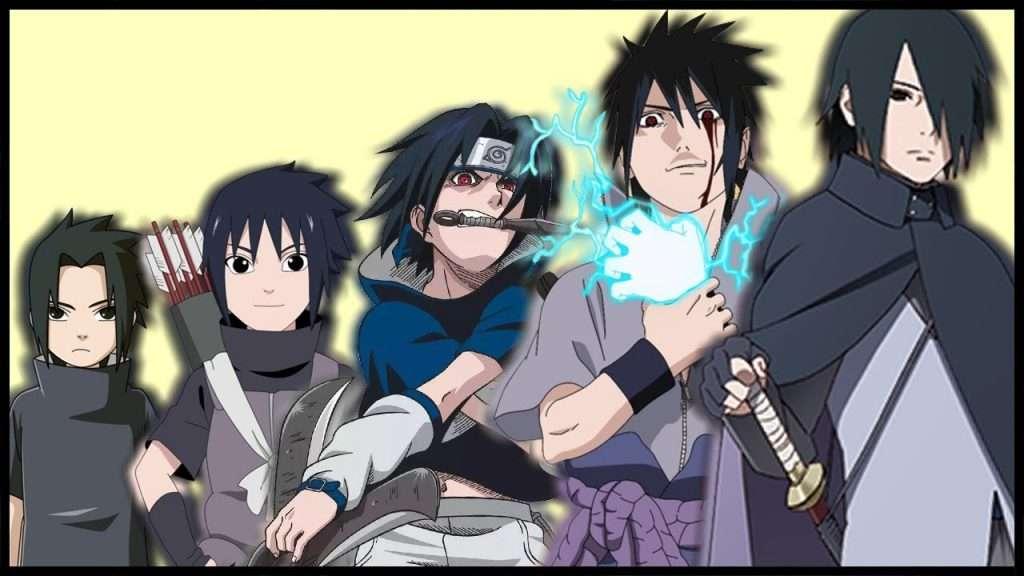 sasuke-evolution