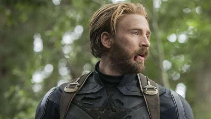 Steve Rogers in Wakanda Battle