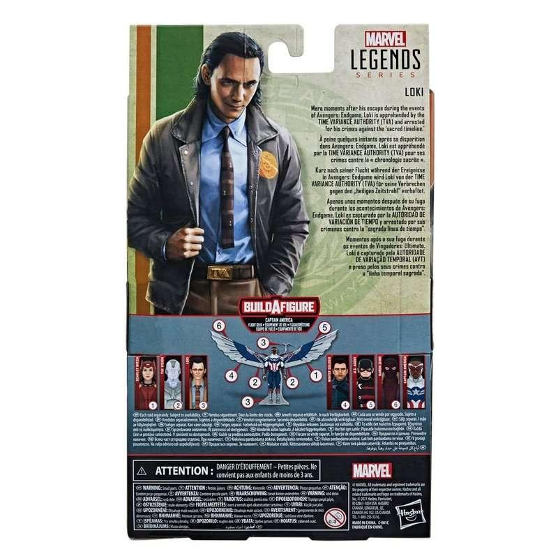Loki Action Figure Box