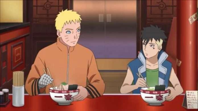 Naruto and Kawaki