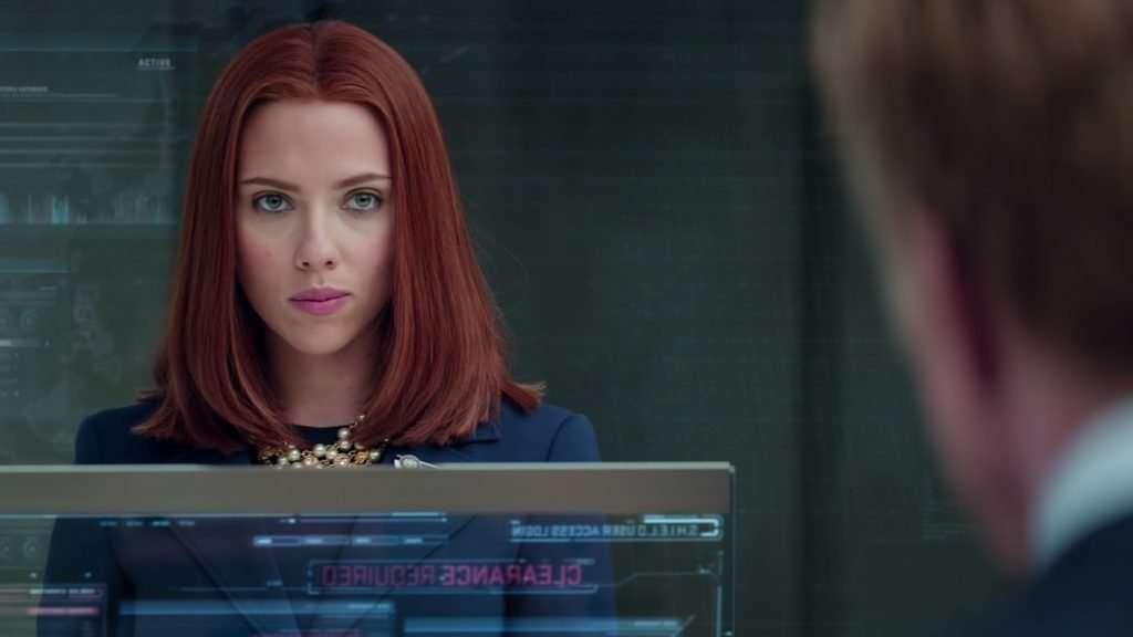 Black Widow Captain America: Winter Soldier