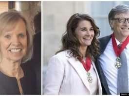 Bill Gates and Ann Winblad