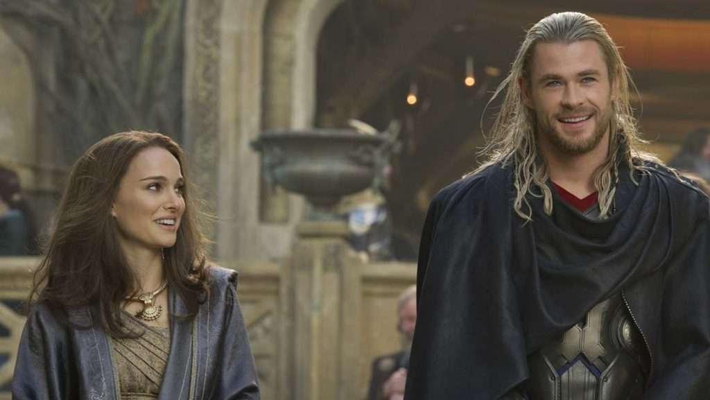 Natalie Portman in Thor Dark World