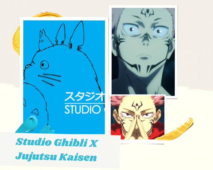 Jujutsu Kaisen X Studio Ghibli
