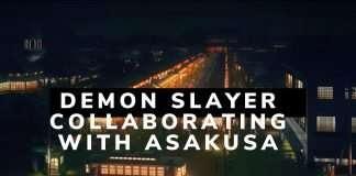 Demon Slayer Collaborating With Asakusa