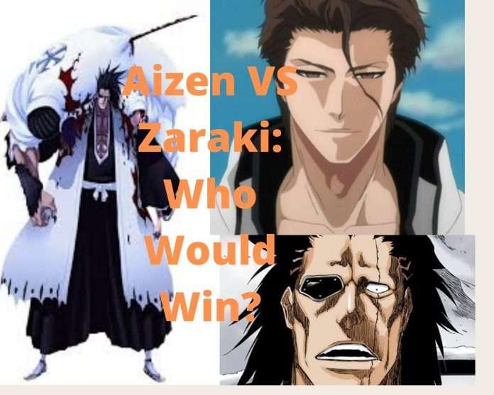 Aizen VS Zaraki Bleach