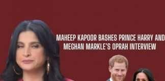 Maheep Kapoor on Prince Harry and Megan Markle
