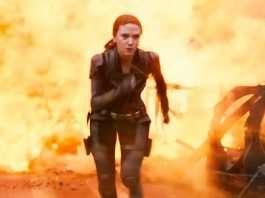 Black Widow Stunts