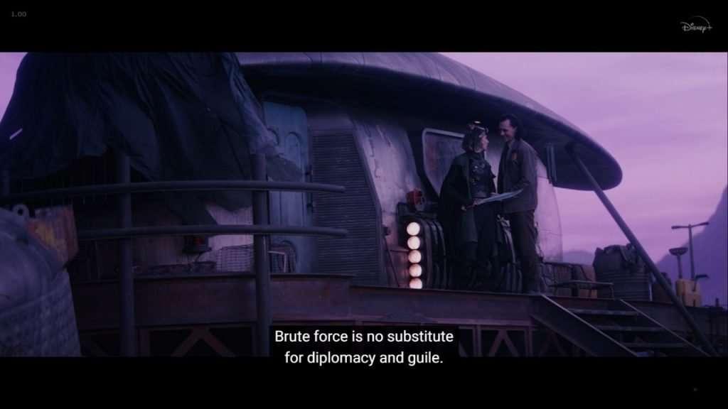 Loki diplomacy quote