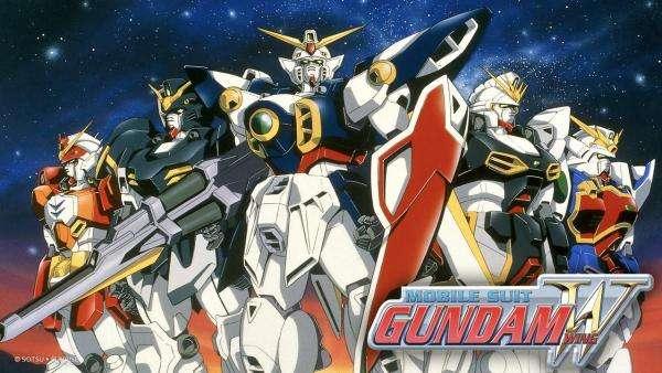 Mobile Suit Gundam Wing- One of Shinji Takamatsu's works (1995–1996)