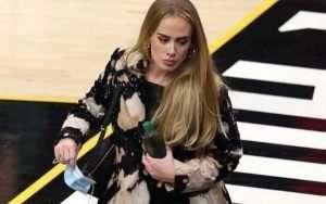 Adele at NBA Finals
