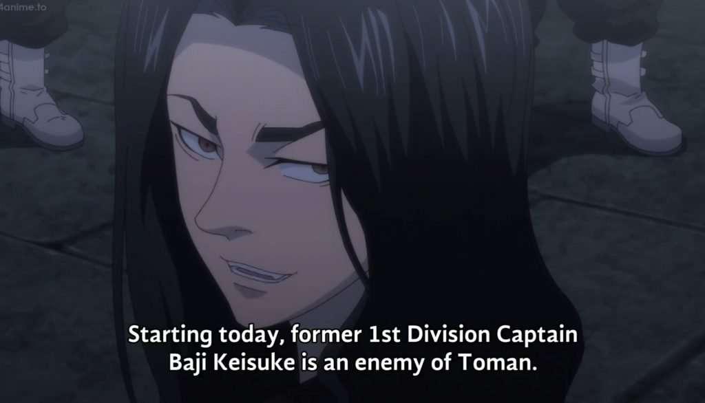 Baji announces his resignation from Toman
