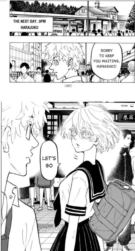 Tokyo Revengers Chapter 215
