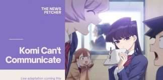 Komi Can't communicate live action