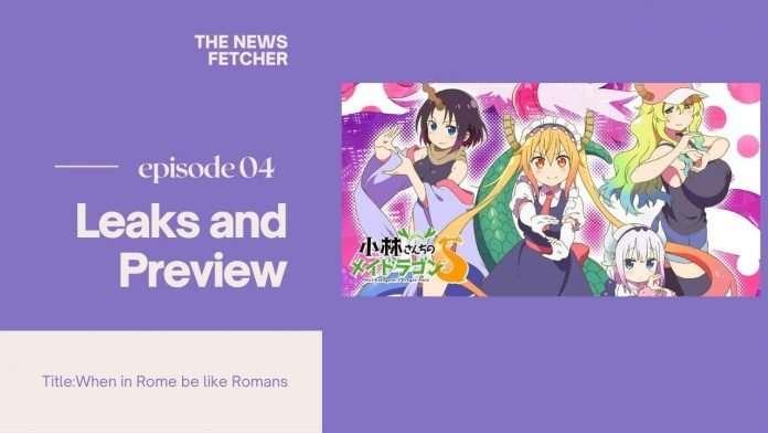 Miss Kobayashi's Dragon maid S Episode 4
