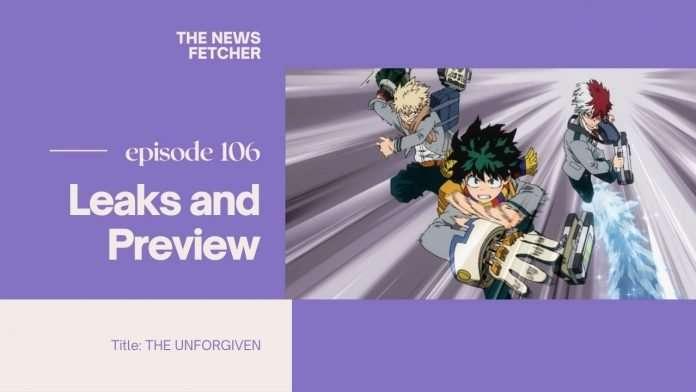 My Hero Academia Episode 106