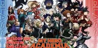 My hero academia ep 104