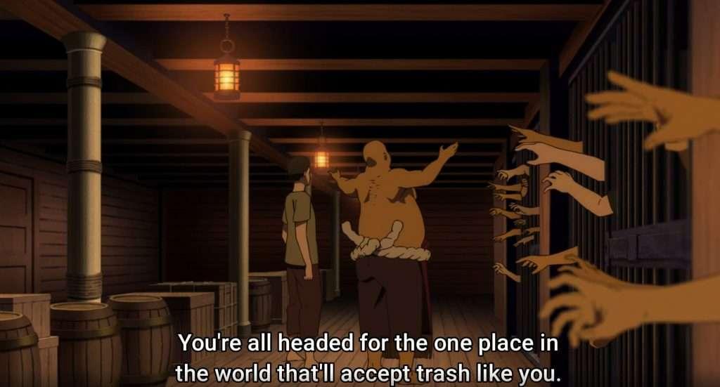 Fushi and Pioran in the wrong ship