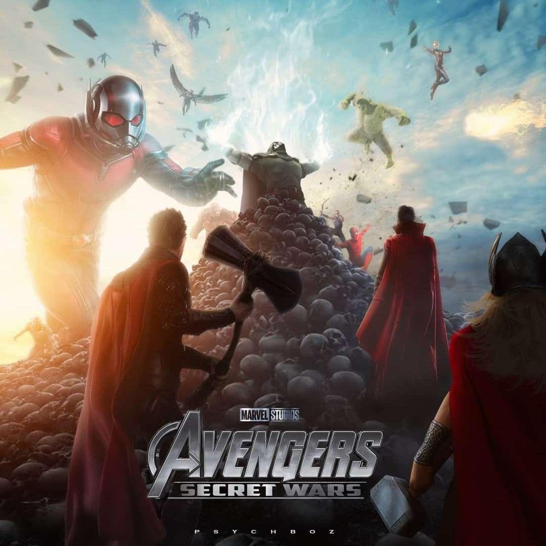 Avengers 5 art by: psychboz