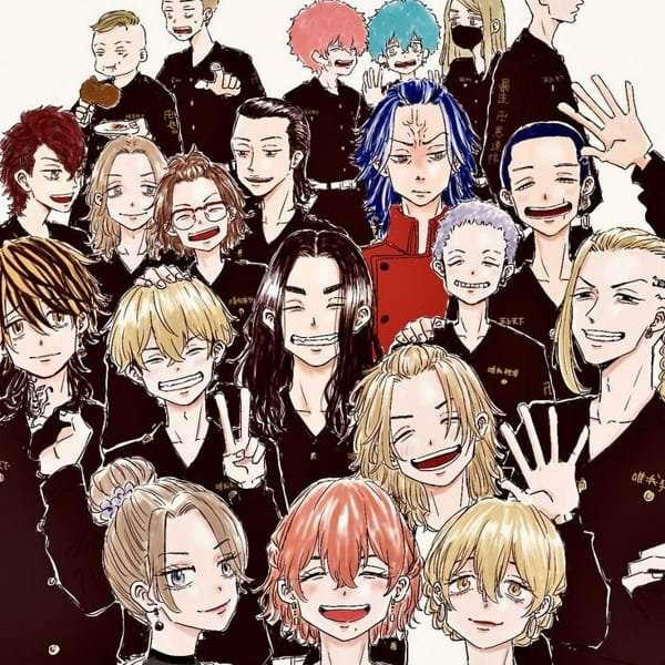 Tokyo Revengers Cover
