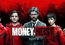 The squad of Money heist S5